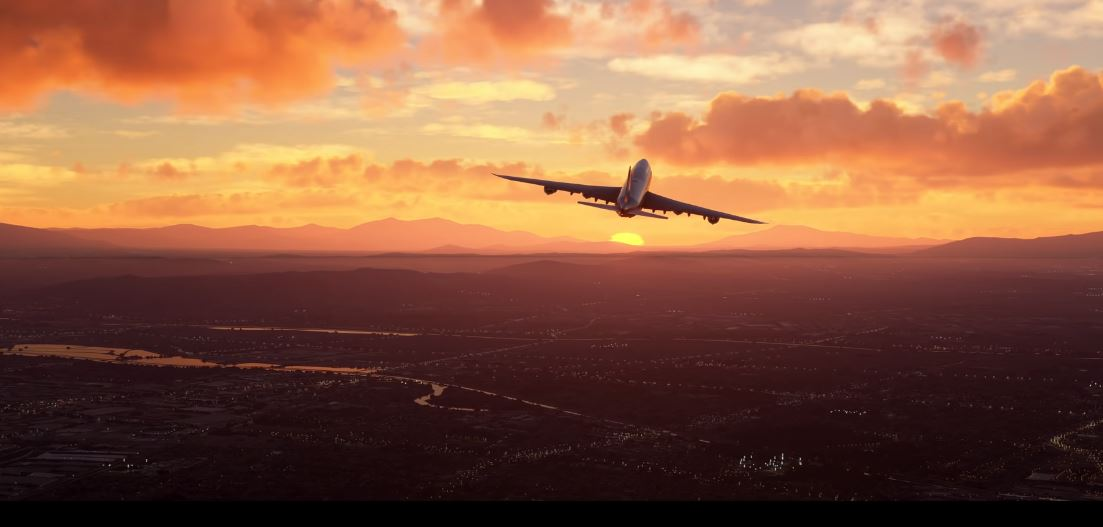 Take a flight anywhere in the world with Microsoft's FlightSim20